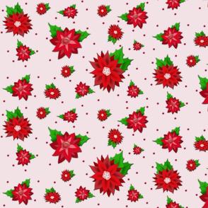 Poinsettias-Pink