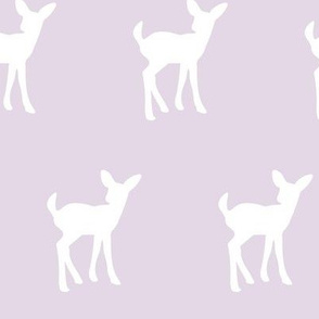 fawn on light lilac || the lilac grove collection