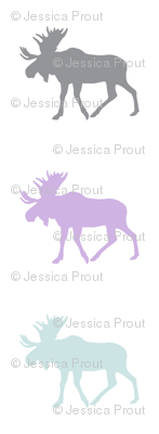 multi moose (aviary blue) || the lilac grove collection