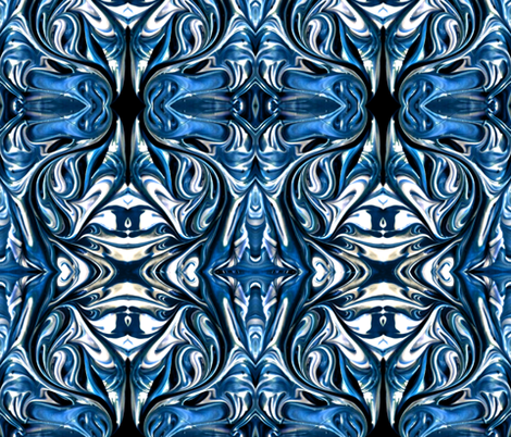 Blue Blender fabric by whimzwhirled on Spoonflower - custom fabric