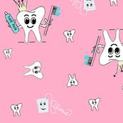 Crown/floss (pink)