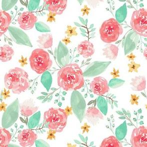 Pastel floral