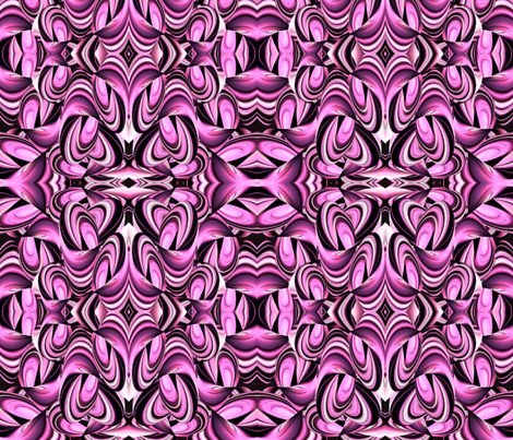 Pink fabric by whimzwhirled on Spoonflower - custom fabric