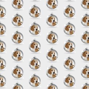 Christmas Beagle