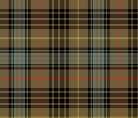 "Stewart hunting tartan - 12"" weathered fabric by weavingmajor on Spoonflower - custom fabric"