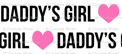 personalized name fabric cute girls design heart text font fabric