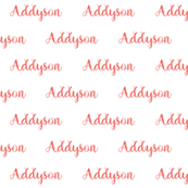 personalized custom name fabric cute girls customized fabric