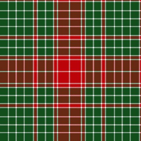 "Major James Fraser tartan, 6"" fabric by weavingmajor on Spoonflower - custom fabric"