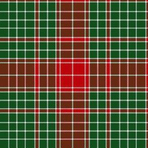 Major James Fraser tartan, 6""