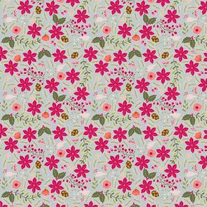 Poinsettia_flower_fond_gris_nuage_M