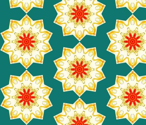 Asteridea 2 fabric by floramoon on Spoonflower - custom fabric