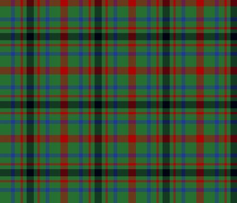 "MacDonagh tartan - 6"" modern fabric by weavingmajor on Spoonflower - custom fabric"