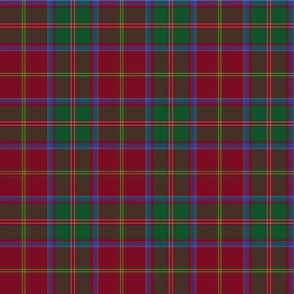 "MacDonald of Glencoe tartan - 6"" dark"