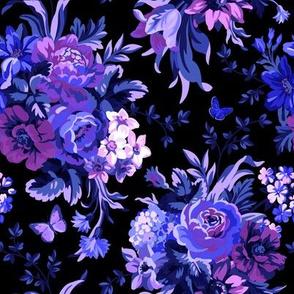 Blue Velvet - Black