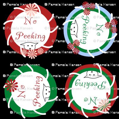No Peeking Christmas Cats