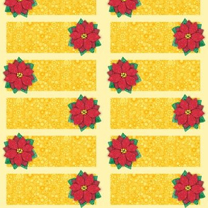 Bubbly Poinsettia Cards