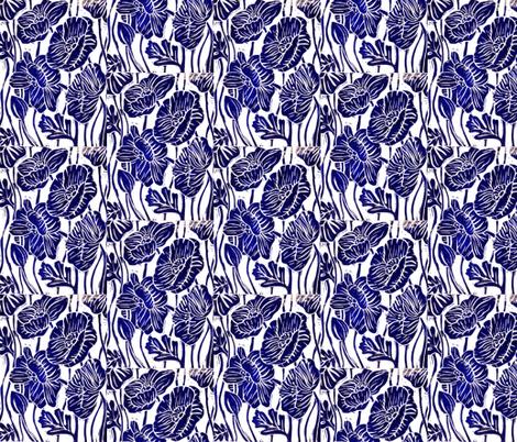 Poppies fabric by tiffany_budd on Spoonflower - custom fabric