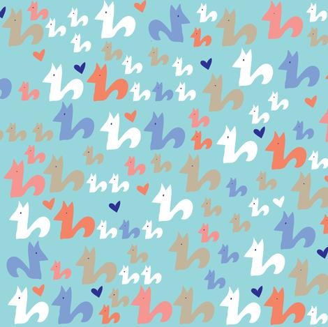 Community Love! fabric by solvejg on Spoonflower - custom fabric