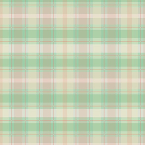 Green and Pink Madras Plaid