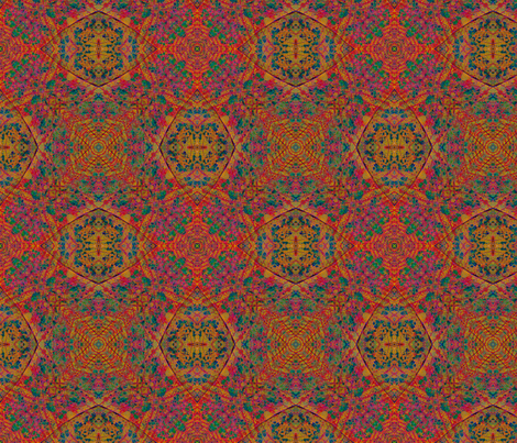 Octagons 1 fabric by enid_a on Spoonflower - custom fabric