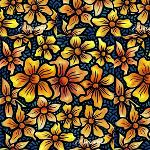Sun Flowers SF