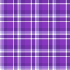 Blurple Plaid