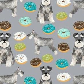 schnauzers donuts fabric cute donuts fabric schnauzers dog fabric cute dog