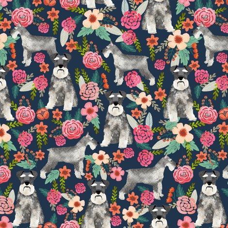 Rschnauzer_floral_navy_shop_preview