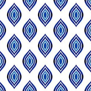 Blue traditional