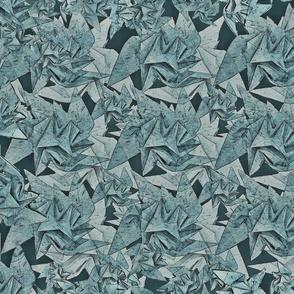 Origami Armor Gray Green