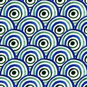 Watercolor circle