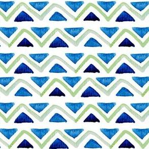 Watercolour  triangle