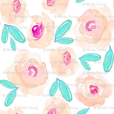 Indy Bloom Design  Orange Blossom