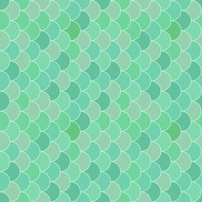 Fish scale celadon