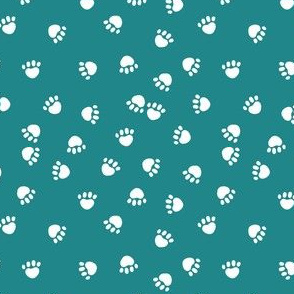 dog paws fabric cute turquoise paw prints cute dog fabric dog fabrics
