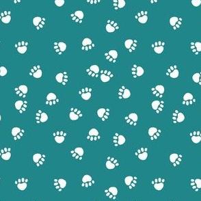 dog paws fabric cute turquoise paw prints cute dog fabric dog fabrics