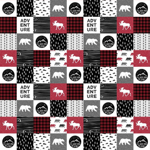 "2"" small scale - Happy Camper 