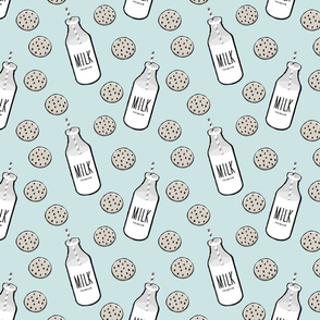 milk & cookies (aviary blue)