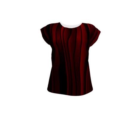 Nouveau Stripes Dirty Reds