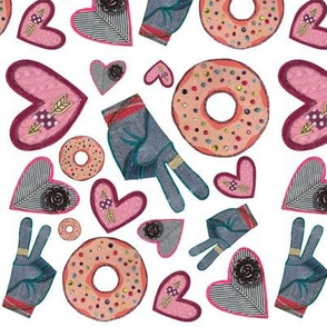 Peace, Love & Donuts
