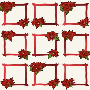 Poinsettia Gift Tags by Su_G_©SuSchaefer