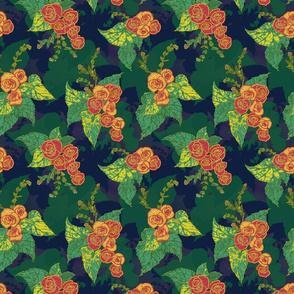 Tropical Begonia Floral