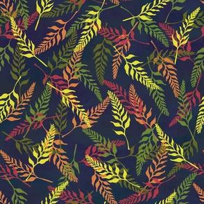 Tropical Bud Pattern 2