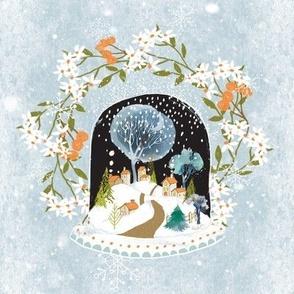 Winter Wonderland Wreath ©Linda Christiansen