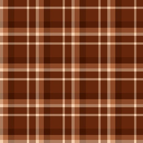 Gingerbread Plaid