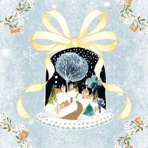 Winter Wonderland - large bow ©Linda Christiansen