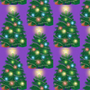 bright christmas tree