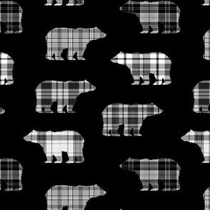 Black & White Plaid Bears // Sylvan Shoppe Collection