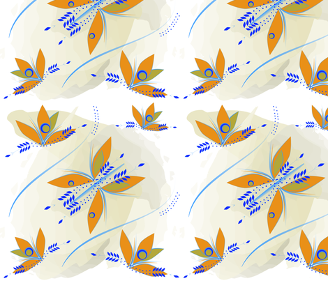 Butter Fly Home fabric by sas_patterns on Spoonflower - custom fabric