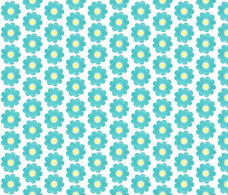 Checkered_Floral_Coordinate8 fabric by deanna_konz on Spoonflower - custom fabric